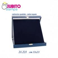 Astuccio Targa cm 33x33
