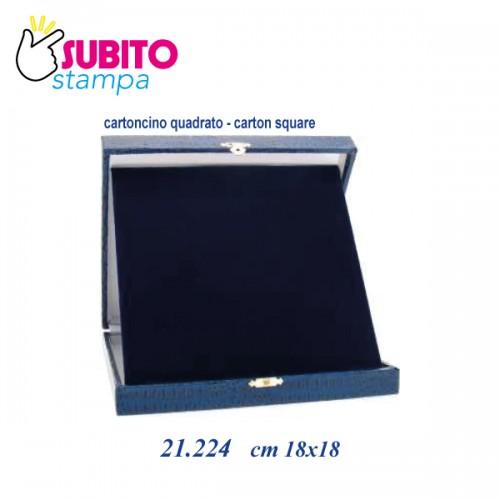 Astuccio Targa cm 18x18